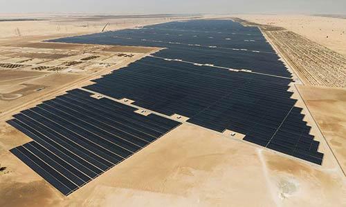 بزرگترین نیروگاه خورشیدی جهان در ابوظبی امارات وارد مدار شد