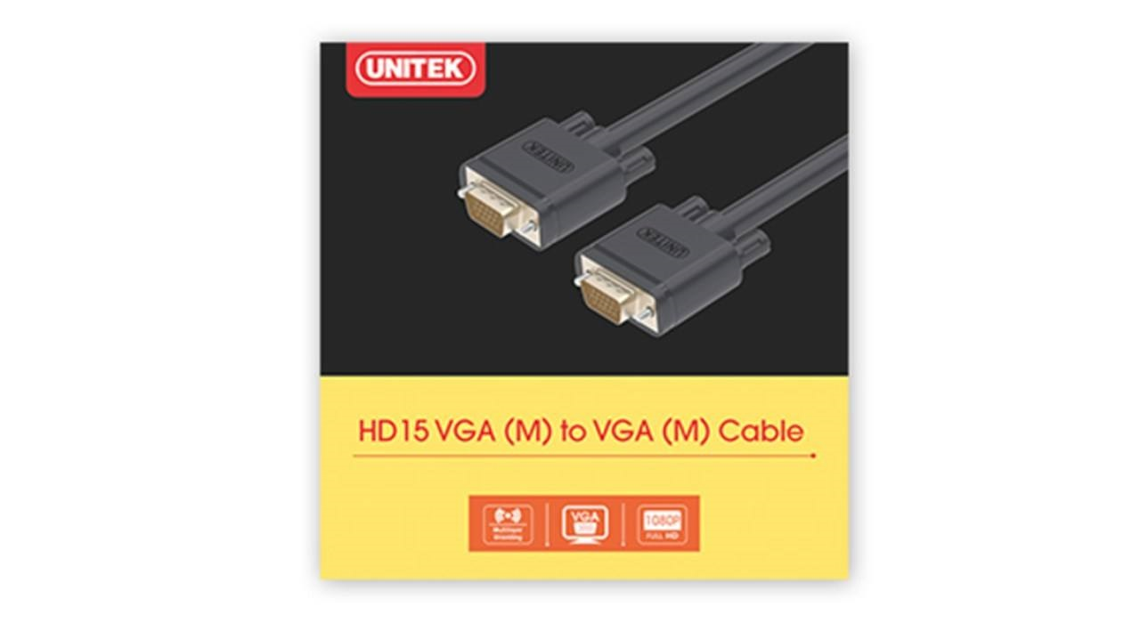 Unitek Y-C506G VGA Cable 10m unitek y-c506g vga cable 10m Unitek Y-C506G VGA Cable 10m Unitek Y C506G VGA Cable 10m
