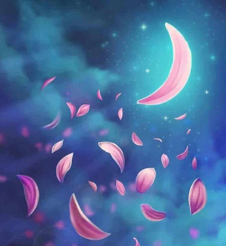 ماه پرپر شده
