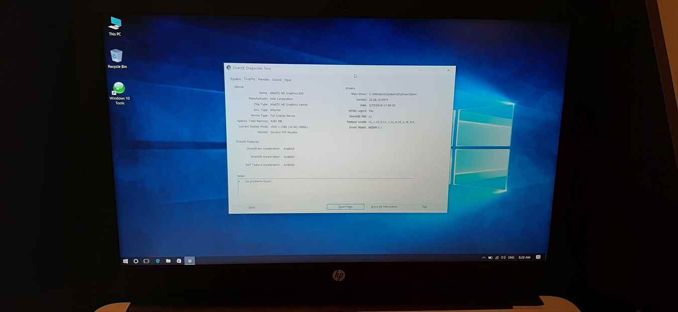 لپ تاپ استوک اچ پی مدل HP Ay116ne با مشخصات i7-7gen-8GB-1TB-HDD-2GB-Amd-Radeon-R7-M340