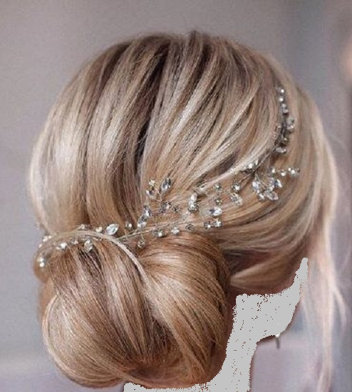 [تصویر: تور ، تاج وجواهرات عروس(فقط عکس)]