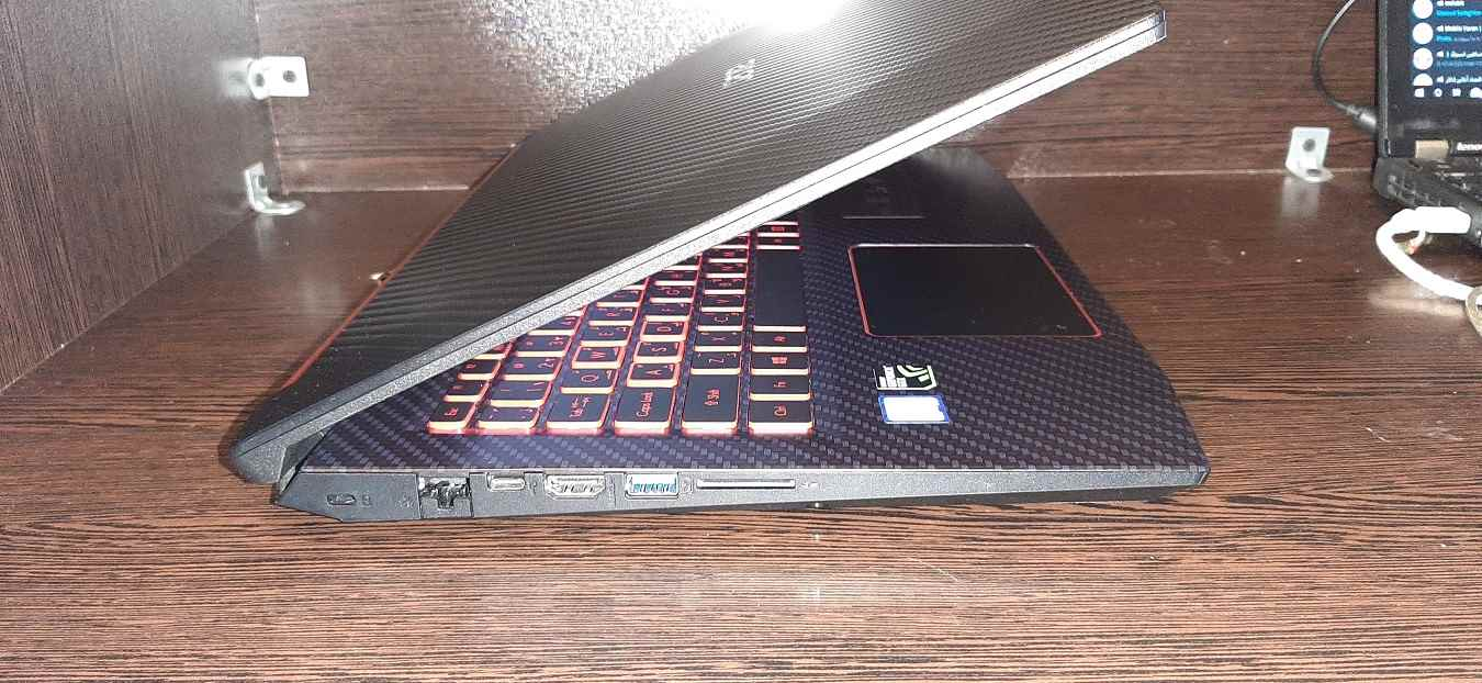 لپ تاپ استوک ایسر مدل ACER Nitro 5 با مشخصات i7-8gen-16GB-128GB-SSD-1TB-HDD-6GB-nVidia-GTX-1060