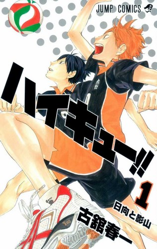 Cover Haikyuu!!