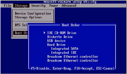 راه هاي  ورود به BIOS