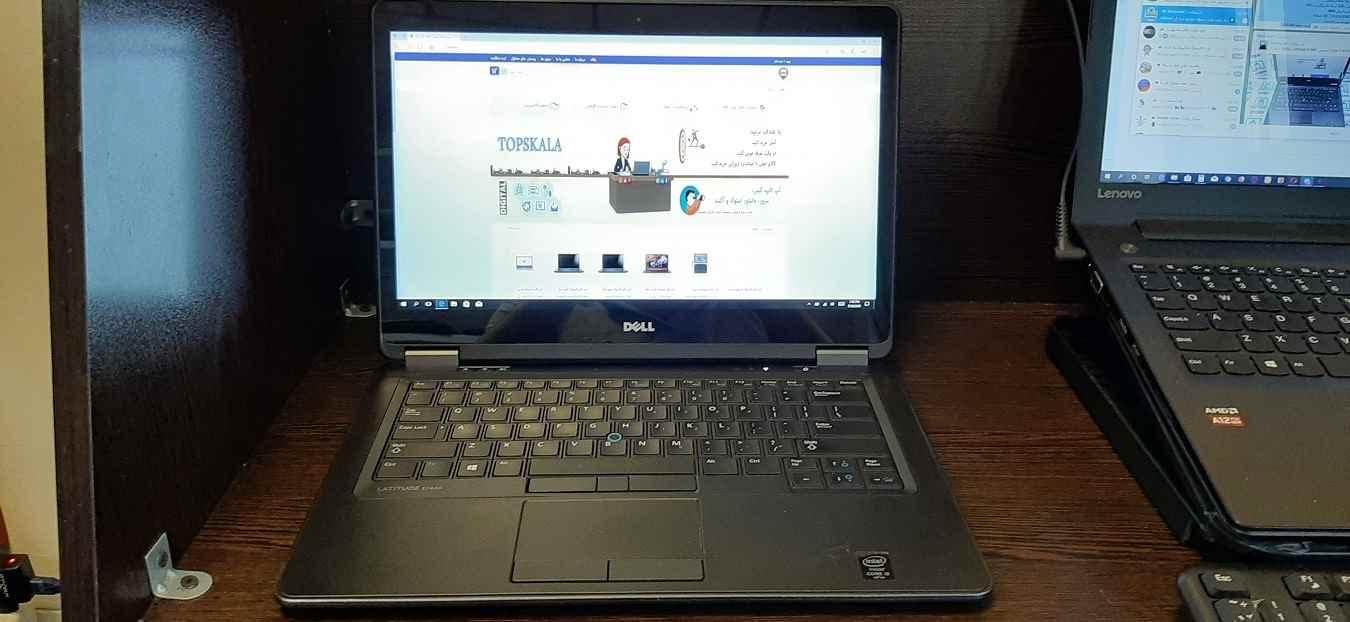 لپ تاپ استوک دل مدل DELL Latitude E7440 با مشخصات i5-4gen-8GB-256GB-SSD-2GB-intel-HD-4600
