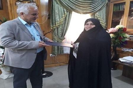 تجلیل فرماندار تالش از همسرش به خاطر ترویج حجاب