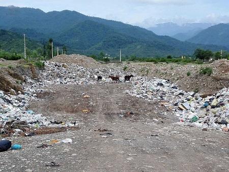 مکان دفن زباله در لیسار تغییر خواهد یافت