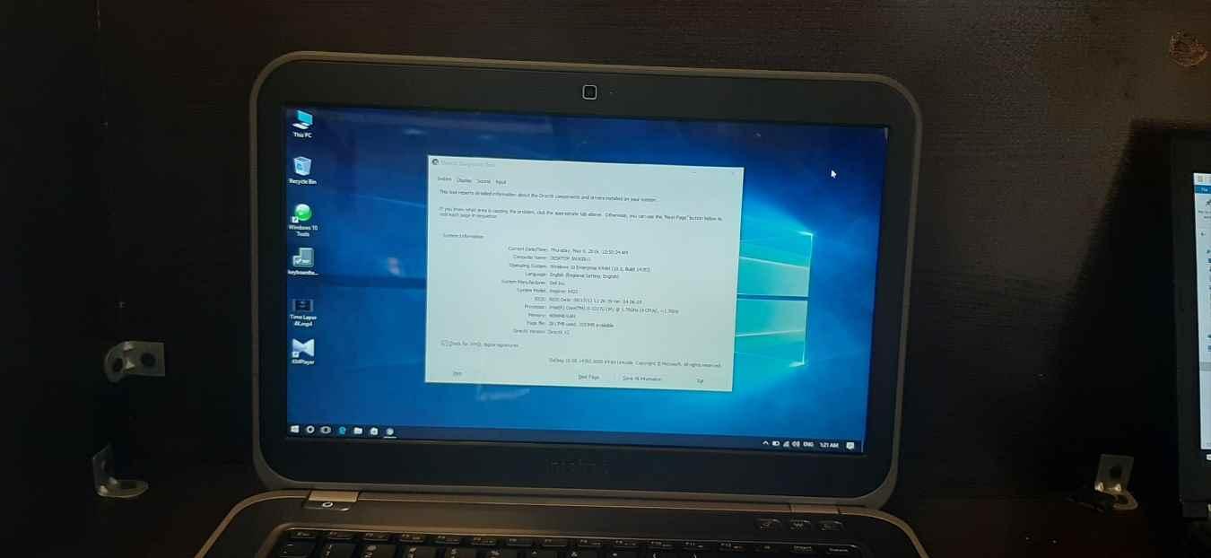لپ تاپ استوک دل مدل DELL Inspiron 5423 با مشخصات i5-3gen-8GB-1TB-HDD-2GB-intel-HD-4000