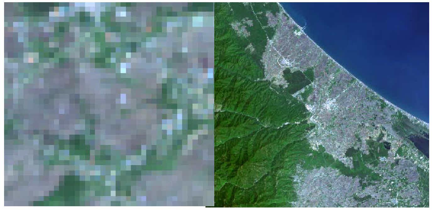 شی گرایی در تصاویر ماهواره ای
