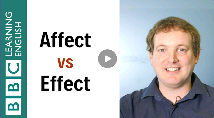 Affect vs Effect تفاوت این دو چیست ؟