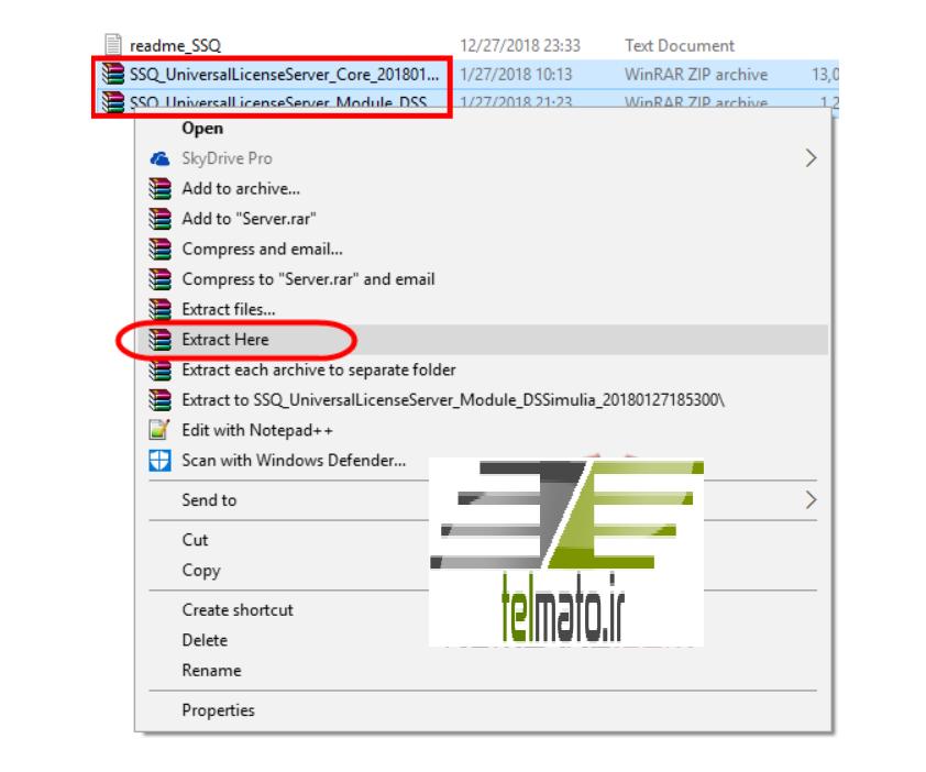 آموزش و راهنمای تصویری نصب و فعالسازی نرم افزار آباکوس abaqus 2019