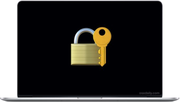 How to Lock a MacBook?