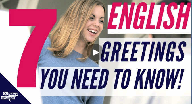 English Greetings You Need to Know with Pronunciation Reductions