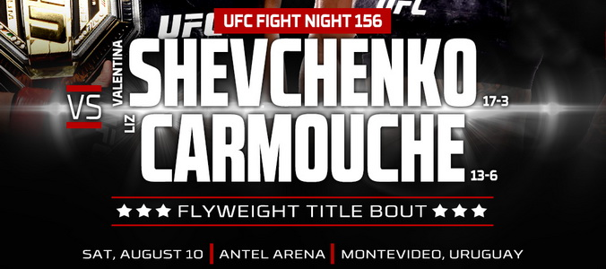 نتایج رویداد :   UFC Fight Night: Shevchenko vs. Carmouche 2