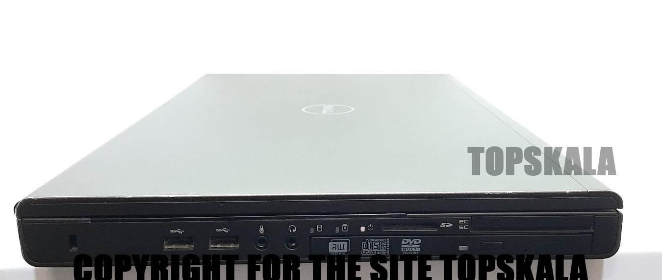 لپ تاپ استوک دل مدل DELL PRECISION M6800 با مشخصات i7-4gen-16GB-128GB-SSD-1TB-HDD-4GB-nVIDIA-QUADRO-K4100M
